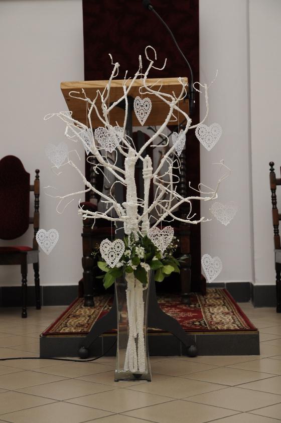 Dekoracja Kościoła Pierwsza Komunia święta Mileny