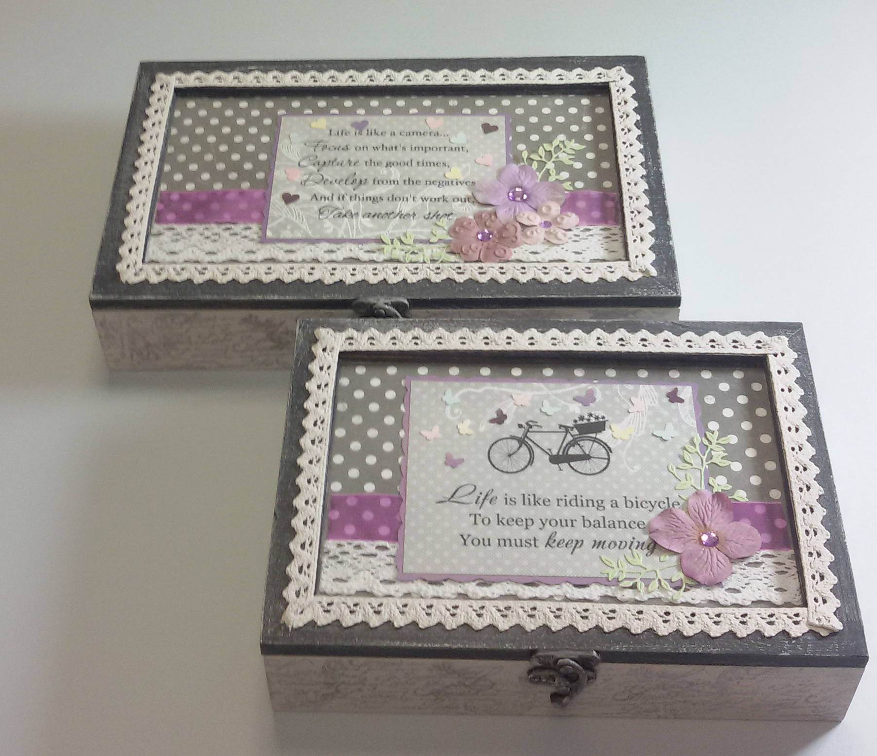 szkatułki na biżuterie