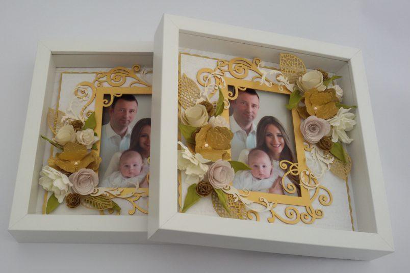 ramki 3D podziękowania dla rodziców ślub